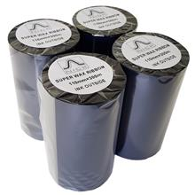 MIT Superwax Label Printer Ribbon Pack Of 4